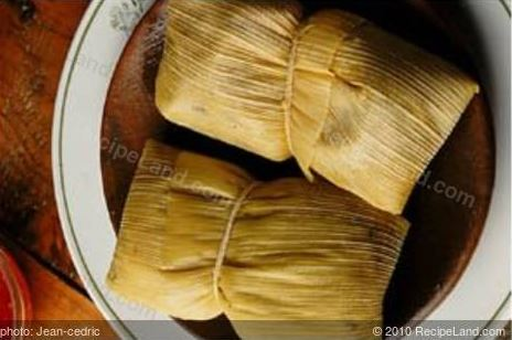 Mexican Tamales are Humintas a la olla in Bolivia and Chile,